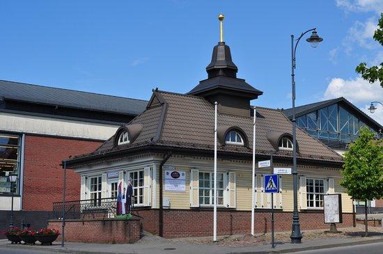 Telsiai, Litauen: Здание информационного центра