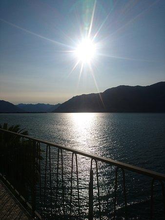 Porto Ronco, Switzerland: Vista dalla nostra terrazza