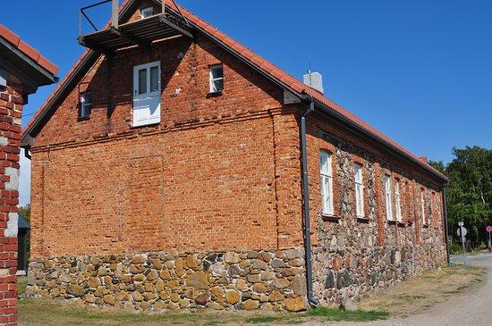 Pavilosta, Latvia: Музей со стороны дороги