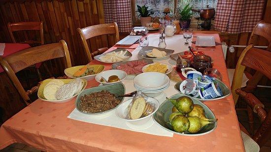 Begunje na Gorenjskem, سلوفينيا: завтрак на двоих