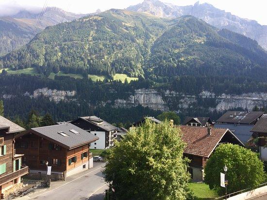 Champery, Zwitserland: Aussicht von Suite 4