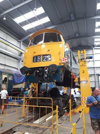 Severn Valley Railway: One from the diesel depot- occasionally you are allowed around there