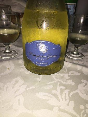 Il Ponte : Bottiglia e bicchieri