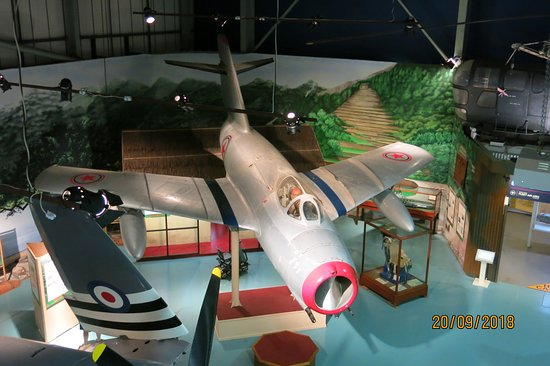 Ilchester, UK: Anyone old enough to have fought in Korea will remember the Russian MIG,