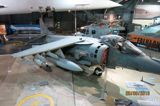 Ilchester, UK: Younger people will member the Harrier from The Falklands conflict