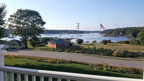 Sebasco Estates, ME: View from Harbor West room #23