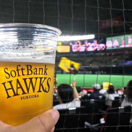 野球観戦以上にビールを堪能