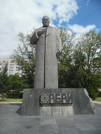 Semey, Kazachstan: abai statue