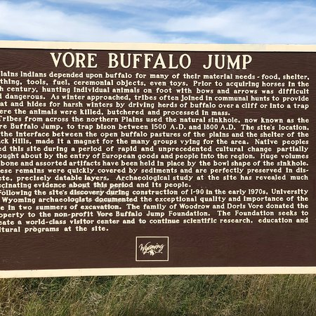 Beulah, WY: Vore Buffalo Jump
