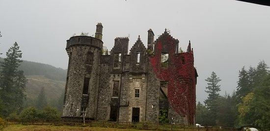Glendaruel, UK: Dunans Castle
