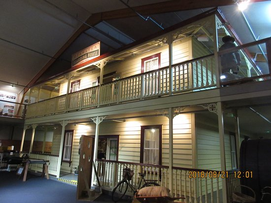 Matakohe, New Zealand: Boarding house exhibit