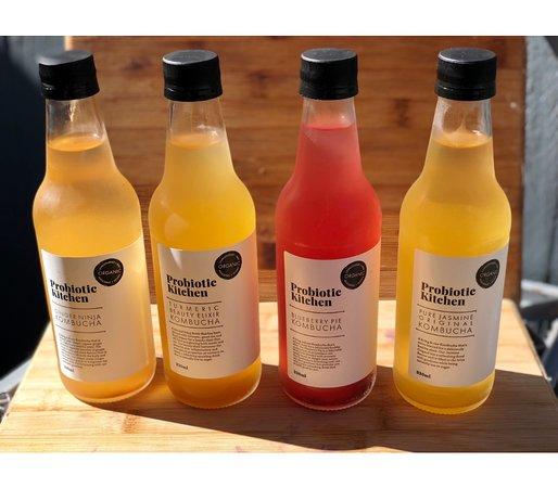 Woody Point, أستراليا: We stock Probiotic Kitchen Kombuchas
