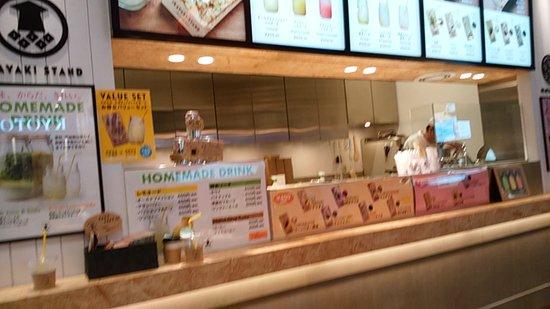 Ikayaki Stand Kyoto Heian: 店舗正面、スタンドでも食べられます