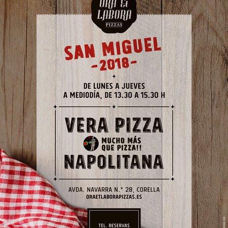 Corella, Ισπανία: Ora Et Labora Pizzas