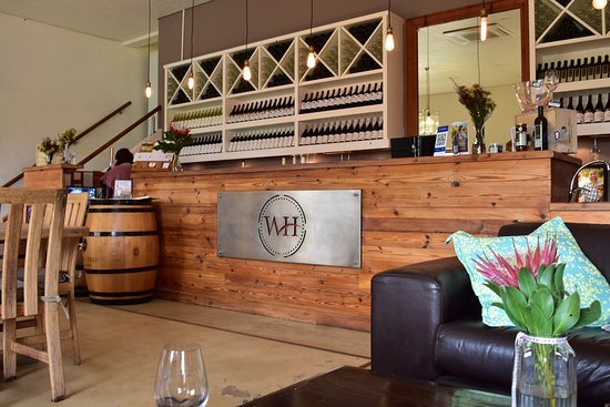 Wolseley, South Africa: Reception of tasting hall