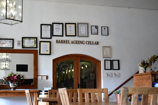 Wolseley, South Africa: A peep into the barrel ageing cellar