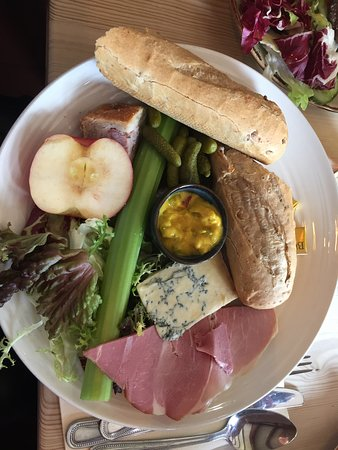 Reedham, UK: Ploughman's. Nice enough but very overpriced for what it was. £14 ! Should of had steak