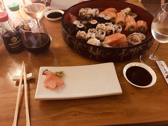 ZenSushi Dorobanti: Sushi for 2