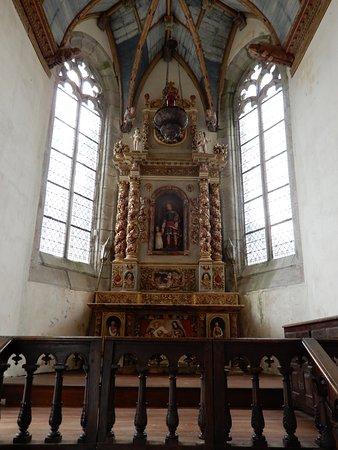 Saint-Thegonnec, France: Interieur