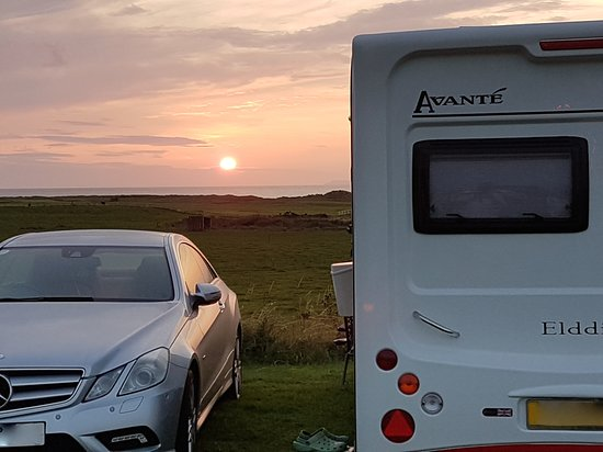 Machrihanish, UK: Sea view pitch.....