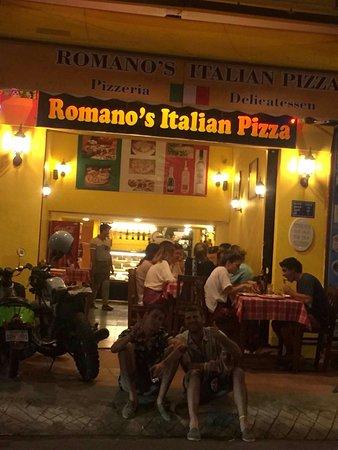New location of Romano's italian pizza