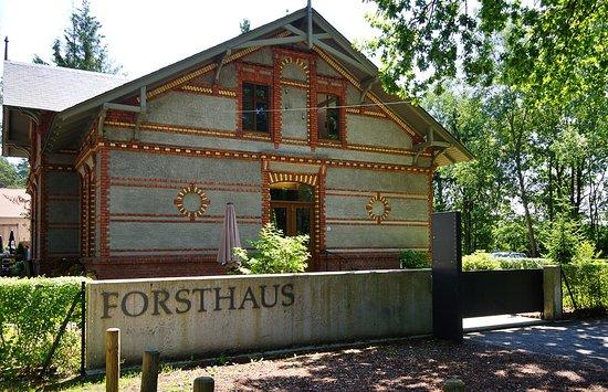 Teilansicht Forsthaus am Schloss Sommerswalde