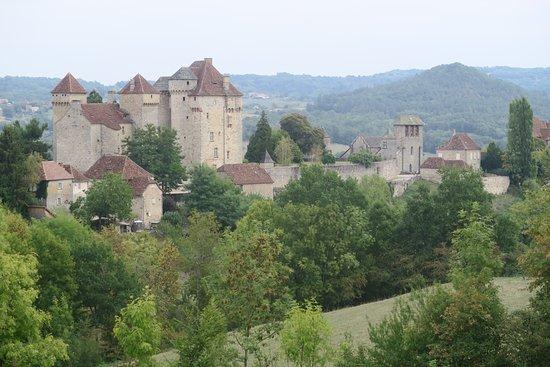 Curemonte, França: Vue générale