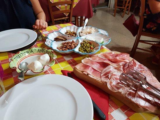 Albanella, Italy: Antipasto per 2