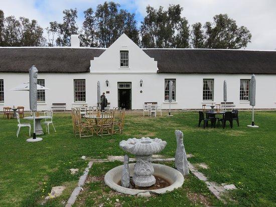 West Coast National Park, Sydafrika: Geelbek restaurant