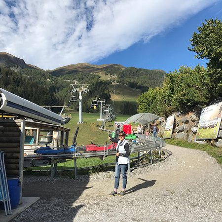 Churwalden, Ελβετία: Rodelbahn Erlebnisberg Pradaschier