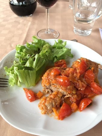 Chef in Tuscany - Cooking Lessons: Meat balls in the lesson