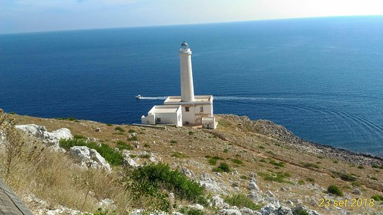 Punta Palascia Lighthouse