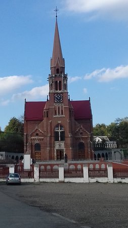 Cacica, Romania: Chatolic church 1