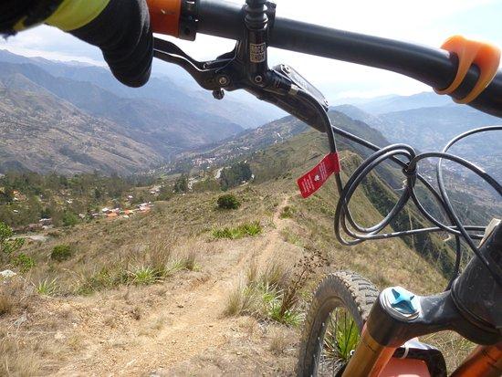 Gravity Bolivia: Riding the ridge