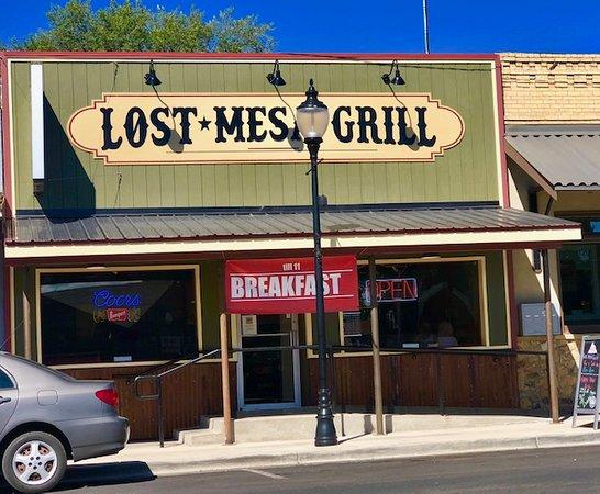 Cedaredge, Колорадо: Facade of The Lost Mesa Grill