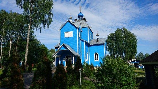 Pryazha, Russia: Покровская церковь