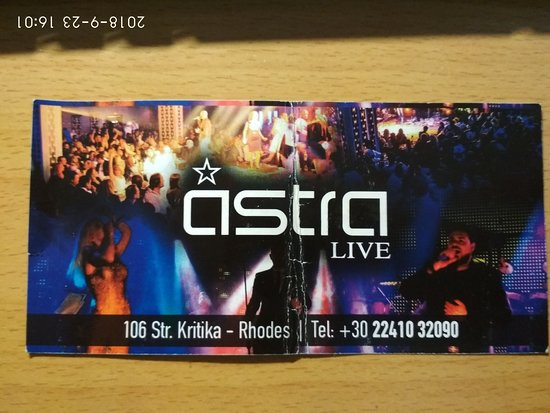 Astra Live