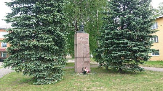 Olonets, Rusia: Памятник В.И. Ленину