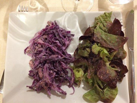 """Landry, France: Entrée """"salade de choux"""""""