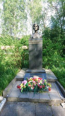 Pryazha, Russia: Памятник М.В. Мелентьевой
