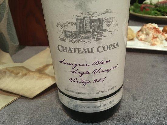 Hemingway: great local wine