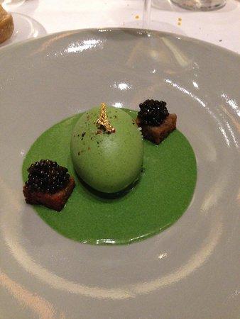 Oeuf Fermier Cuit Mollet En Habit De Cresson Caviar Kristal