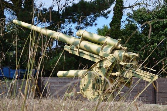 Forest, UK: An 88 flack gun