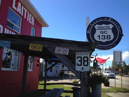Saint-Hilarion, Canadá: Le route QC 138