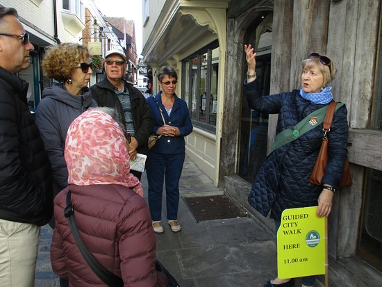 Canterbury Guided Tours: JANE is great!!