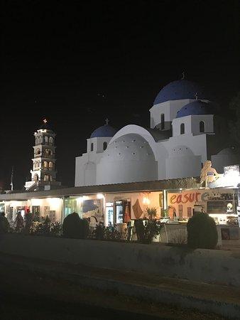 Church of TImios Stavros: por la noche