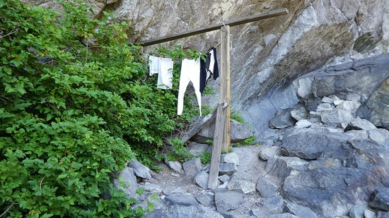 Sokndal Municipality, Norwegia: Tøy til tørk
