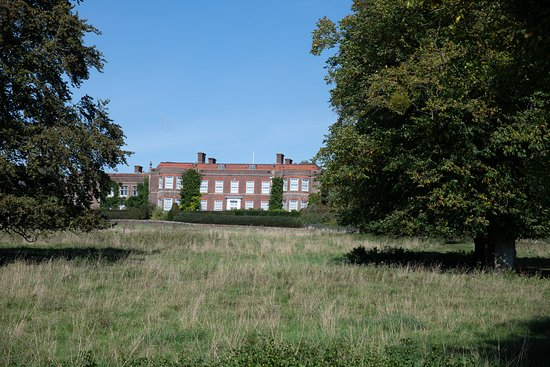 Hinton Ampner, UK: View from the grounds