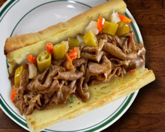 Italian Beef Sandwich Picture Of Beggars Pizza Bolingbrook