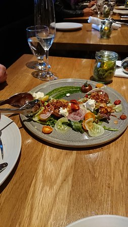 Forage: The heirloom tomato salad must be the most surprisingly tasty salad I've ever eaten.